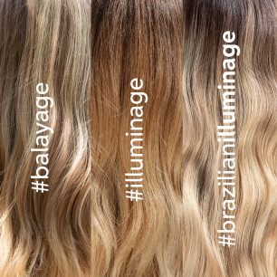 New trends: Brazilian Balayage & Illuminage