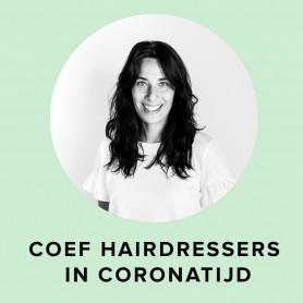 Coef Hairdressers in coronatijd - door Kimberly