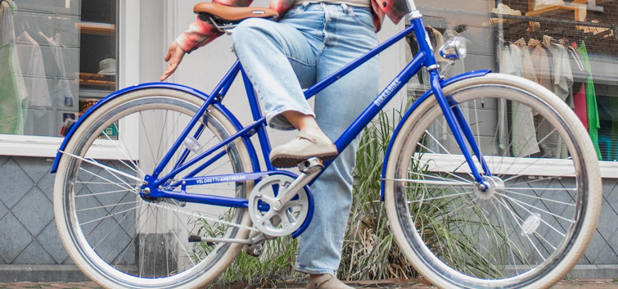 Win een Birkenstock fiets van Veloretti