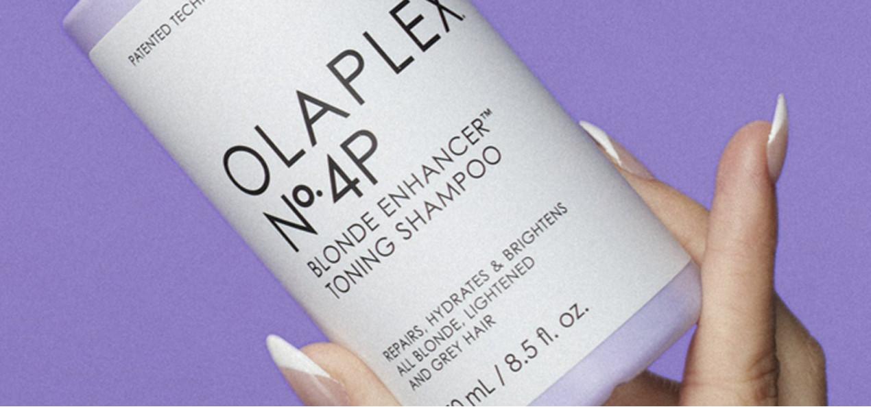 Nieuw: Olaplex No. 4P Blonde Enhancer Toning Shampoo